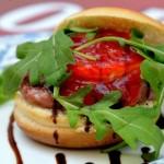 Mini hamburguesa de presa ibérica
