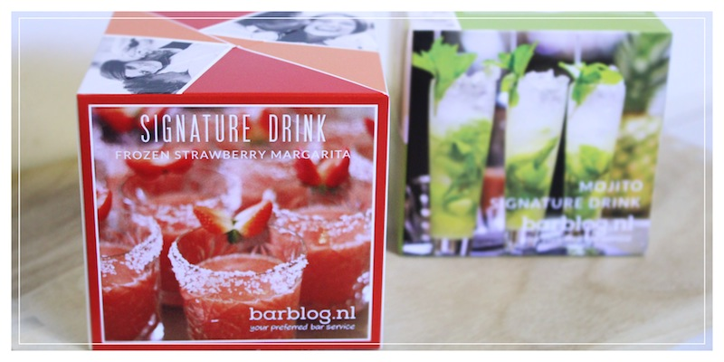 signature drink ontwerp uitnodiging