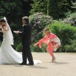 De bruiloft van de winnaars van Weddingday Sensation
