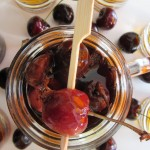 Drunken Cherries Recept