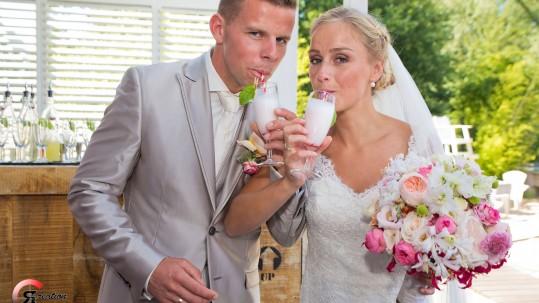 De bruiloft van Paulien en Ferdie