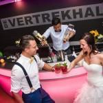 De bruiloft van Lucia en Edwin in De Vertrekhal